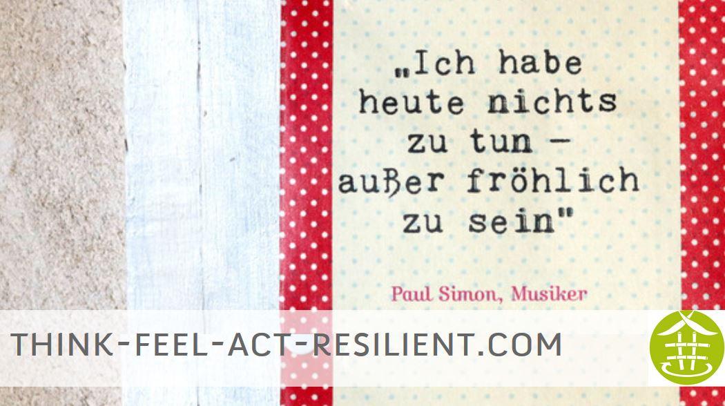 Was verstehen wir unter Resilienz?