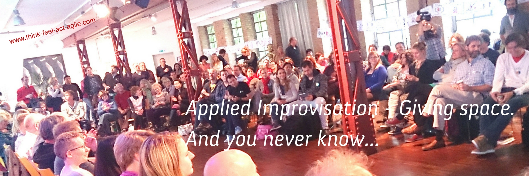 Applied Improv - You never know