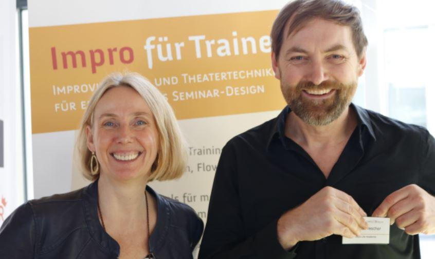 Ella Gabriel Amann und Roland Trescher