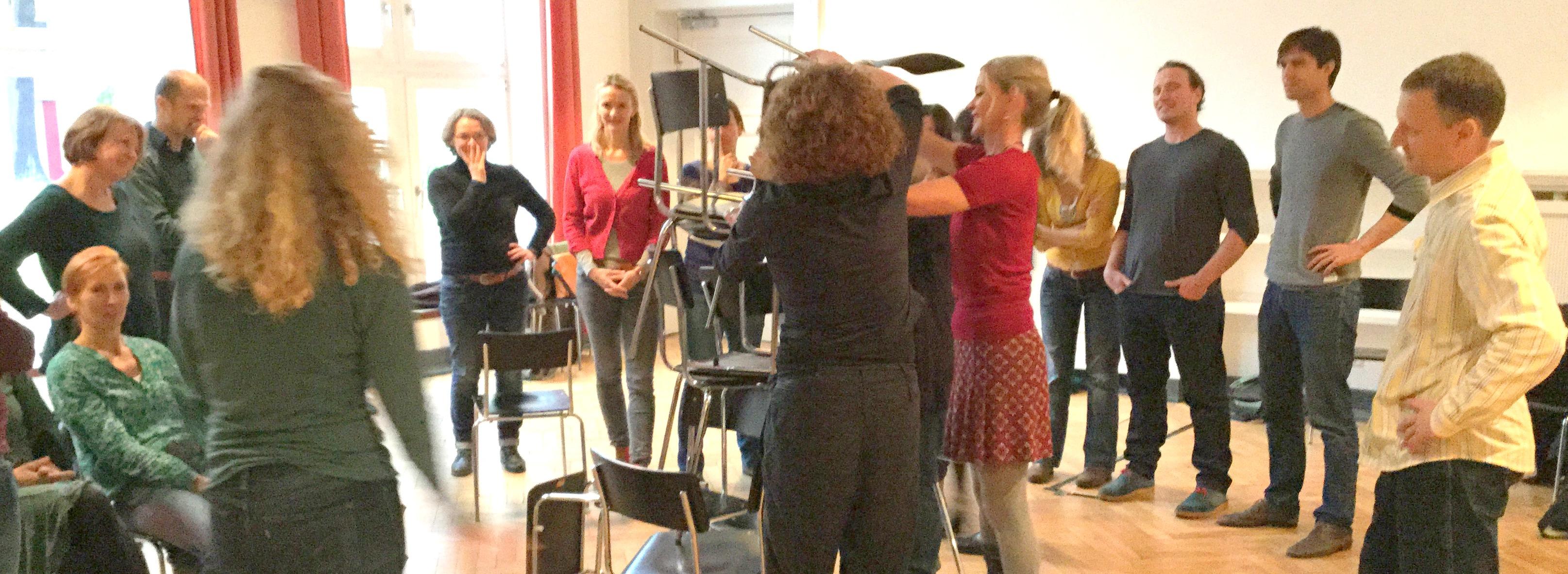 Workshop Angewandte Improvisation - GST Konferenz Berlin