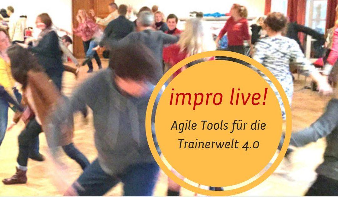 20 Tage Agile Tools und Angewandte Improvisation für Trainer
