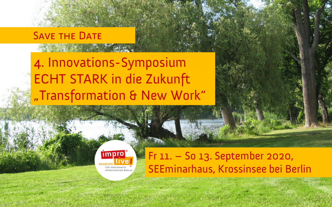 4. Innovations-Symposium ECHT STARK in die Zukunft 2020