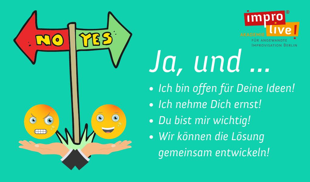 """Applied Improv Basics für New Work – """"Das Yes and! Prinzip"""""""